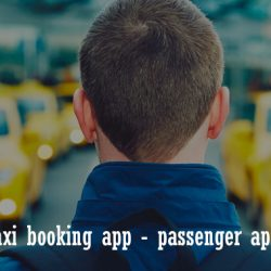 taxi booking android app