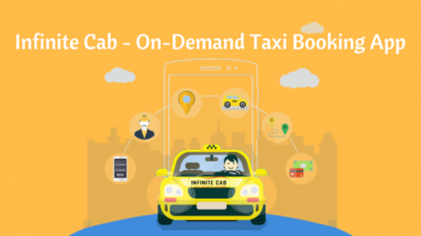 On demand taxi booking app