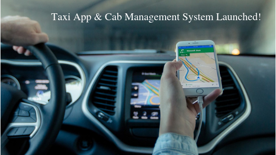 taxi app and cab management system