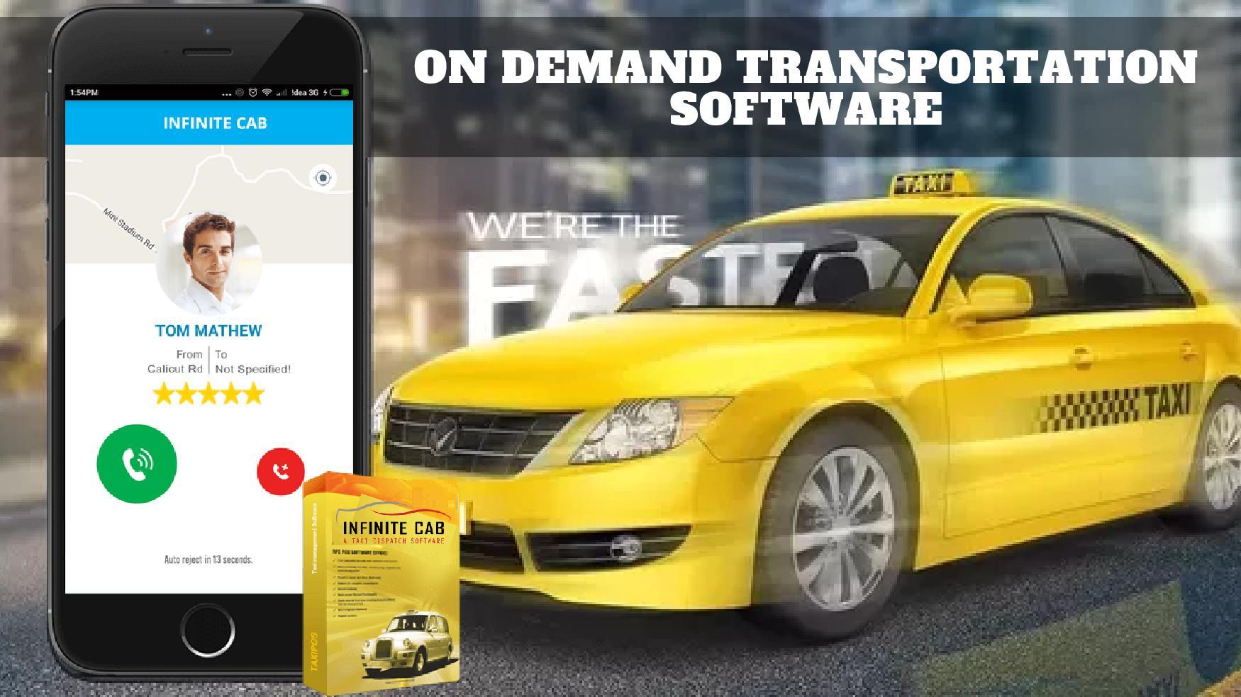 on demand transportation software