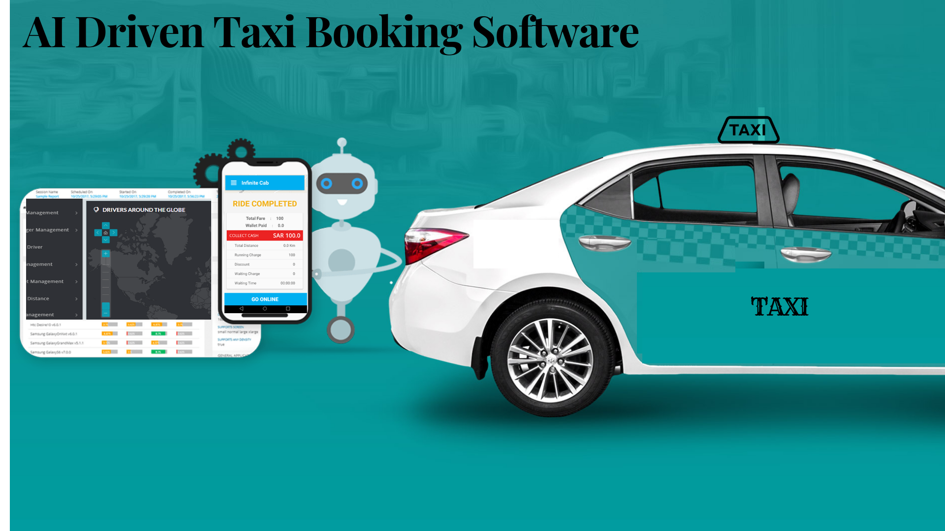 AI Driven Taxi Software