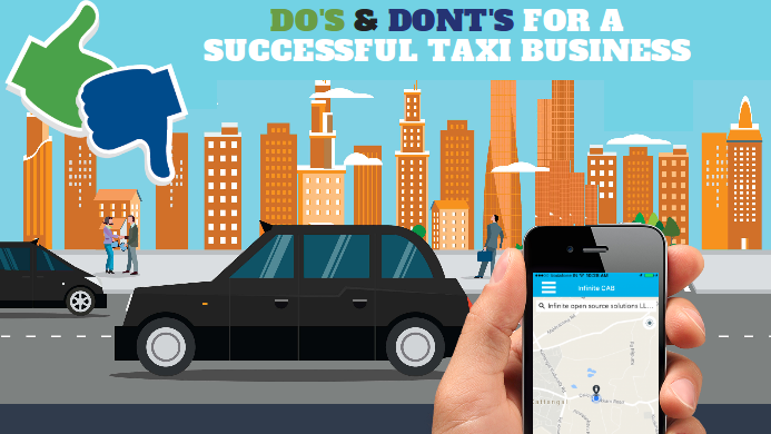 Do's and Dont's for a successful taxi business.