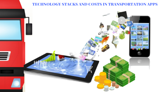 technology stack and cost in taxi app