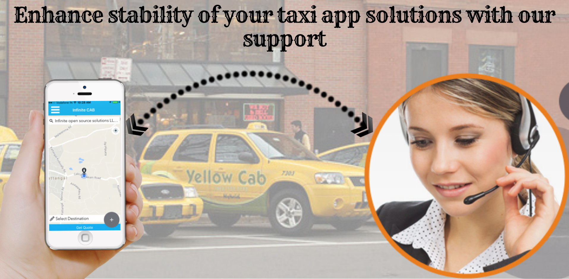 Enhance stability of your taxi app solutions with our support
