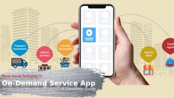 On demand Service app
