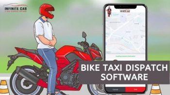 Bike taxi dispatch software