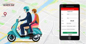 Bike taxi dispatch software payment mode & Gps