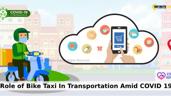 Bike taxi in covid
